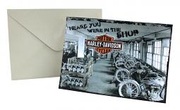 Harley-Davidson® Get Well Card   In The Shop