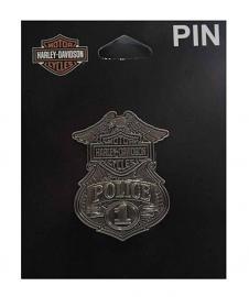 Harley-Davidson® Bar & Shield® Police Badge Pin