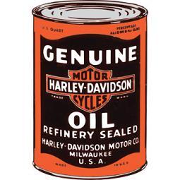 Harley-Davidson® H-D® Oil Can Blank Inside Greeting Card