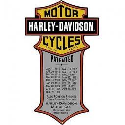 Harley-Davidson® Bar & Shield® Die Cut Tin Wall Sign