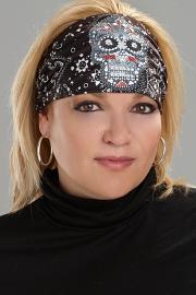 Harley-Davidson® That's a Wrap!® Eye Candy Bandana | Knotty Band ™ | Black