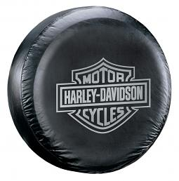 Harley-Davidson® Grey Bar & Shield® Tire Cover