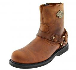 Harley-Davidson® Men's Scout Brown Leather Lifestyle Boots