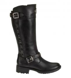 Harley-Davidson® Women's Annadale Black Leather Lifestyle Boots