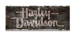Harley-Davdison® Tank Art Sign